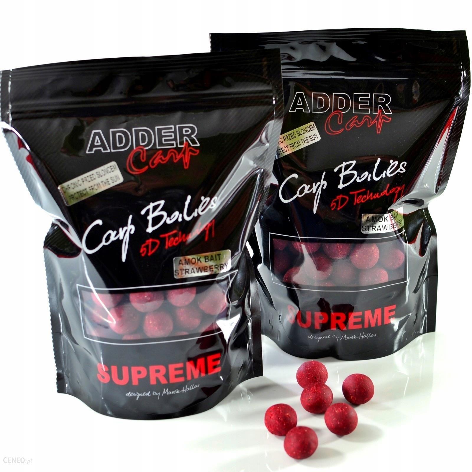 Ac Kulki Supreme Amok Bait Strawberry 1kg 24mm