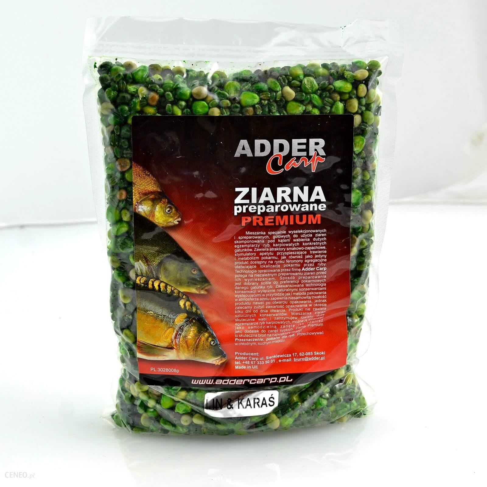 Ac Ziarna Preparowane Premium Lin & Karaś 1Kg Adder Carp