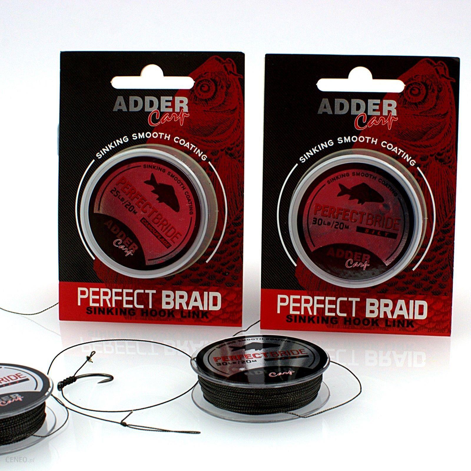 Adder Carp Ac Plecionka Perfect Braid 20M 30Lb Slit Muł