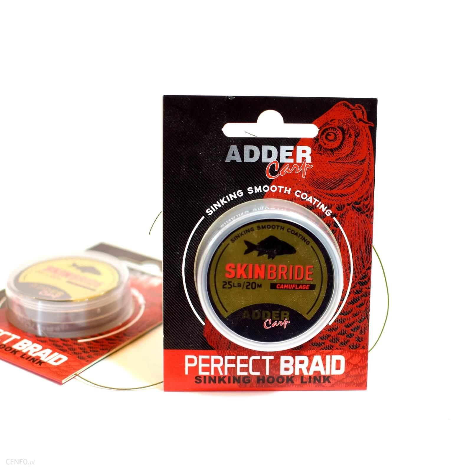 Adder Carp Ac Plecionka Skin Braid 20M 25Lb Camouflage