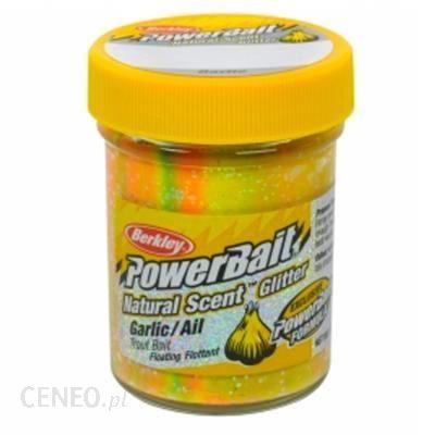 BERKLEY Pasta Natural scent Glitter garlic WIELOKOLOROWY