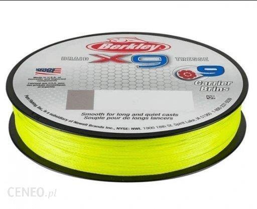 Berkley Plecionka Spinningowa X9 0.10Mm 9Kg 150M Fluoro Green