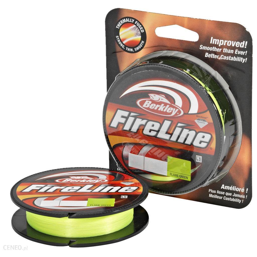 berkley Żyłka wędkarska Fireline Flame Green 110m 0