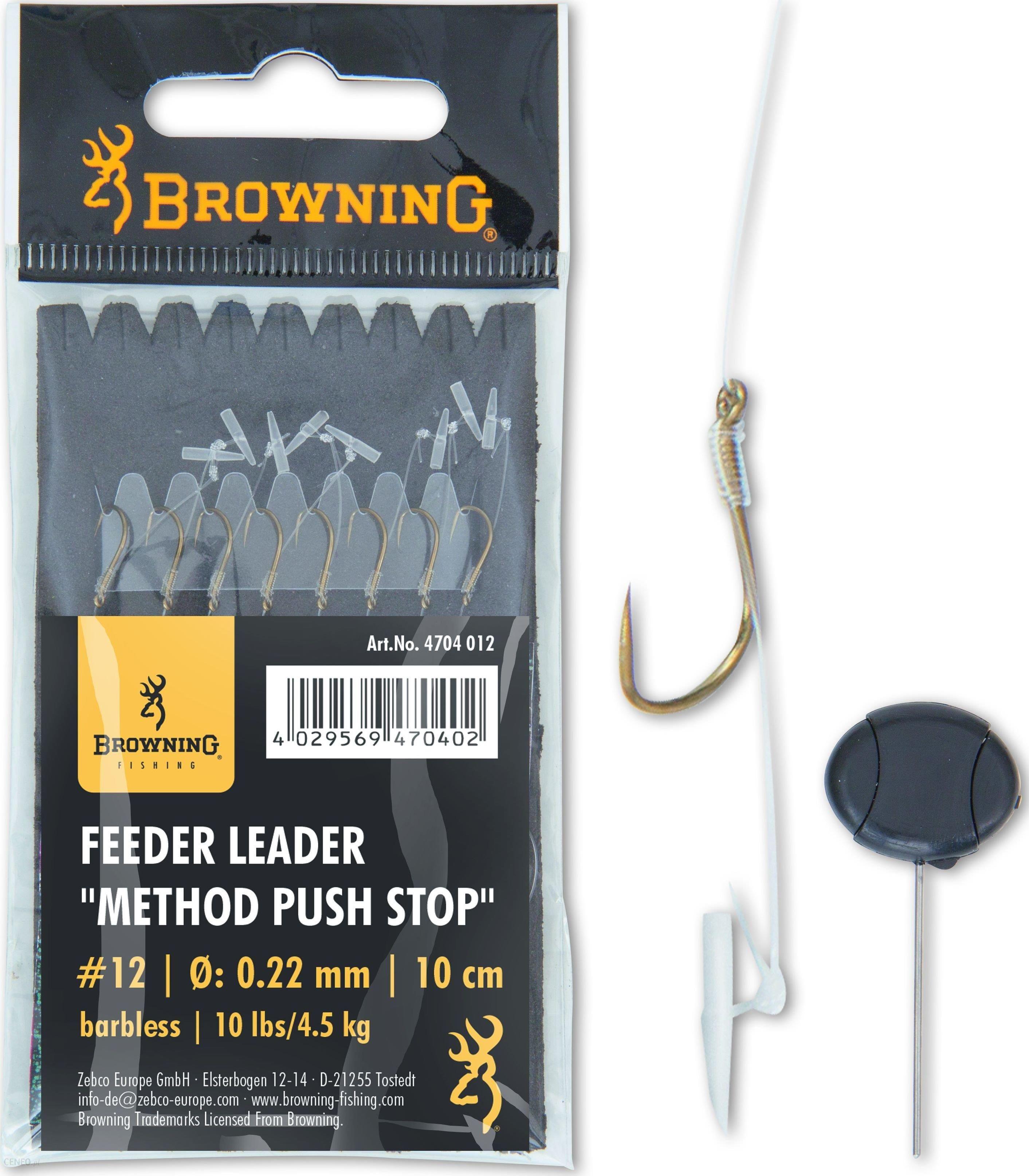 Browning 12 Feeder Method Push Stop Brązowy 10Lbs 4