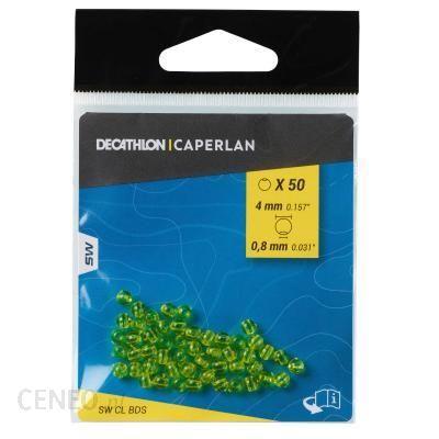 CAPERLAN Perła surfcastingowa 4 mm żółta