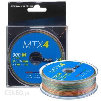 Caperlan Plecionka Mtx4 Multicolore 300M