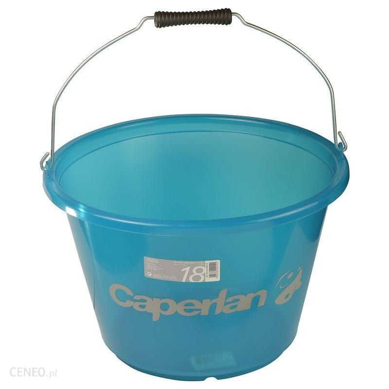 Caperlan Wiadro Zanętowe 18 L Niebieski
