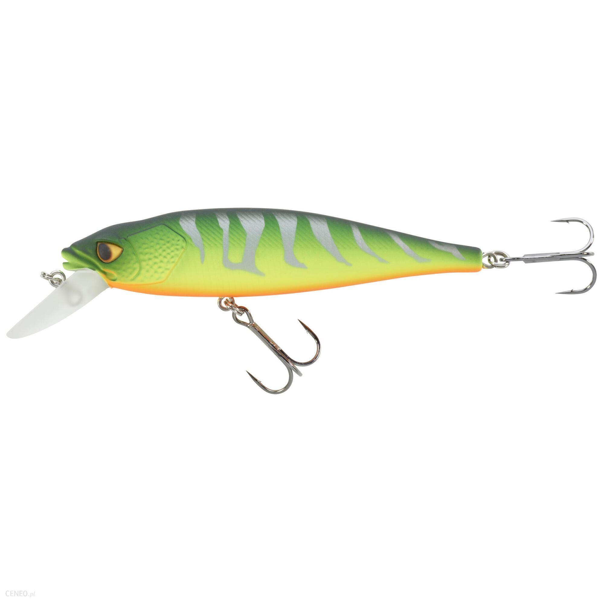 Caperlan Wobler Jerkbait Minnow Mnw 100 Sp Firetiger Pomarańczowy Zielony Żółty