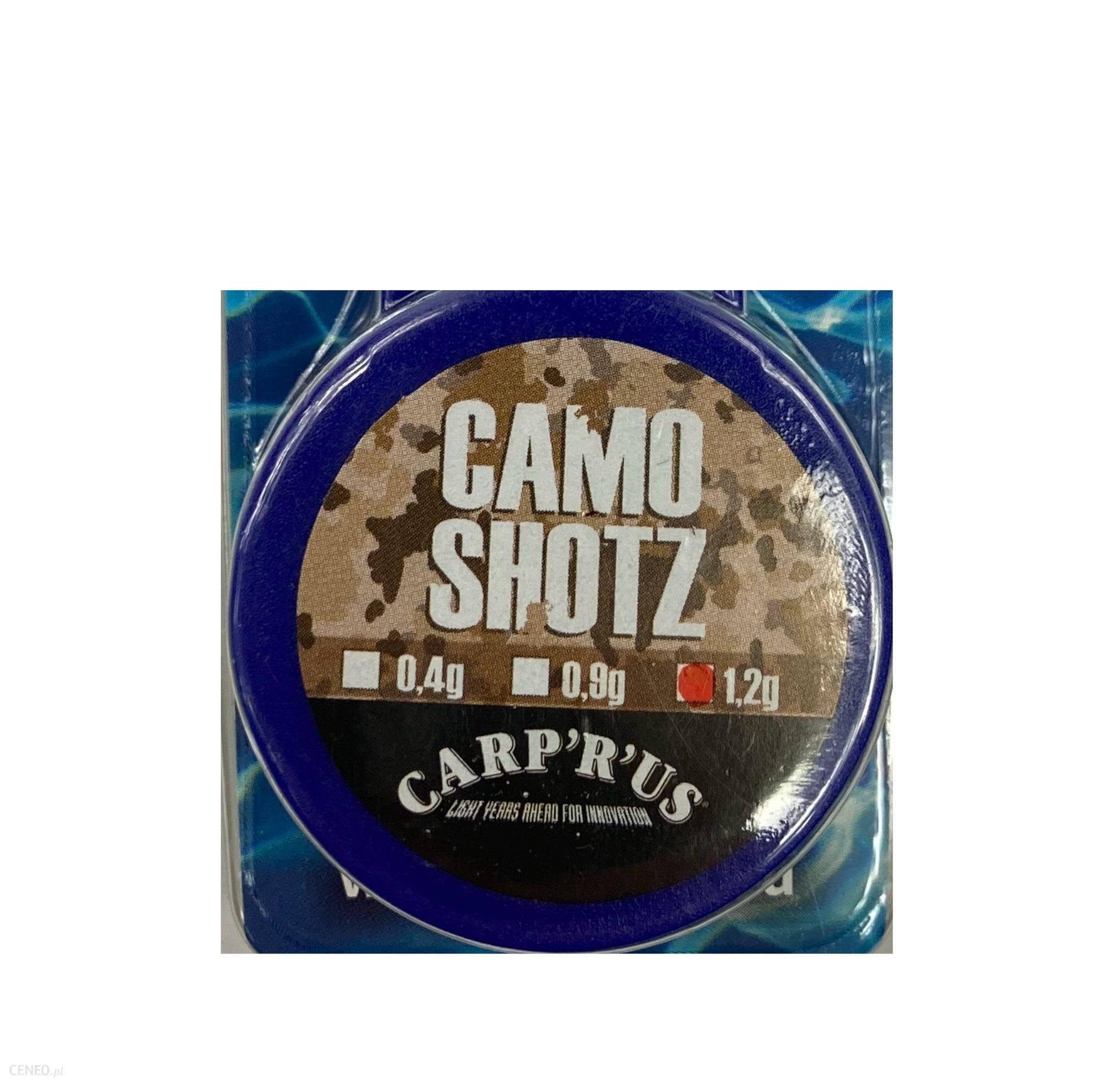Carp'R'Us Dociążenia Przyponu Camo Shotz 1.2G Zielone
