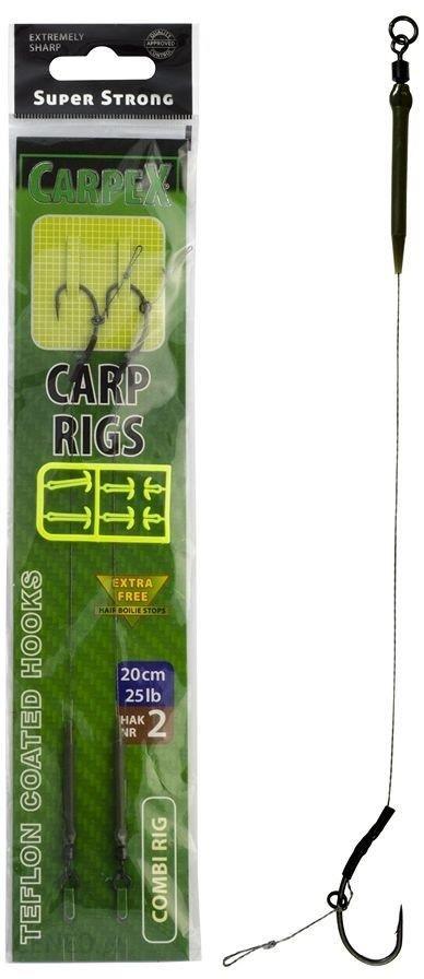 Carpex Przypon karpiowy Combi 20cm 20lb rozmiar haka 4 (01ctss304)