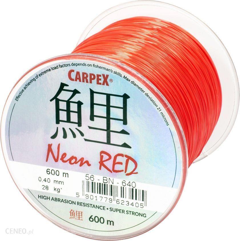 Carpex Żyłka Neon Red
