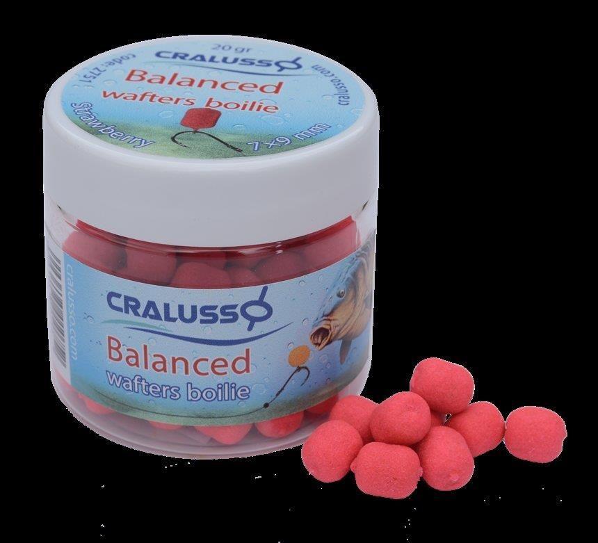 Cralusso Dumbells Balanced 7X9Mm 20G Strawberry