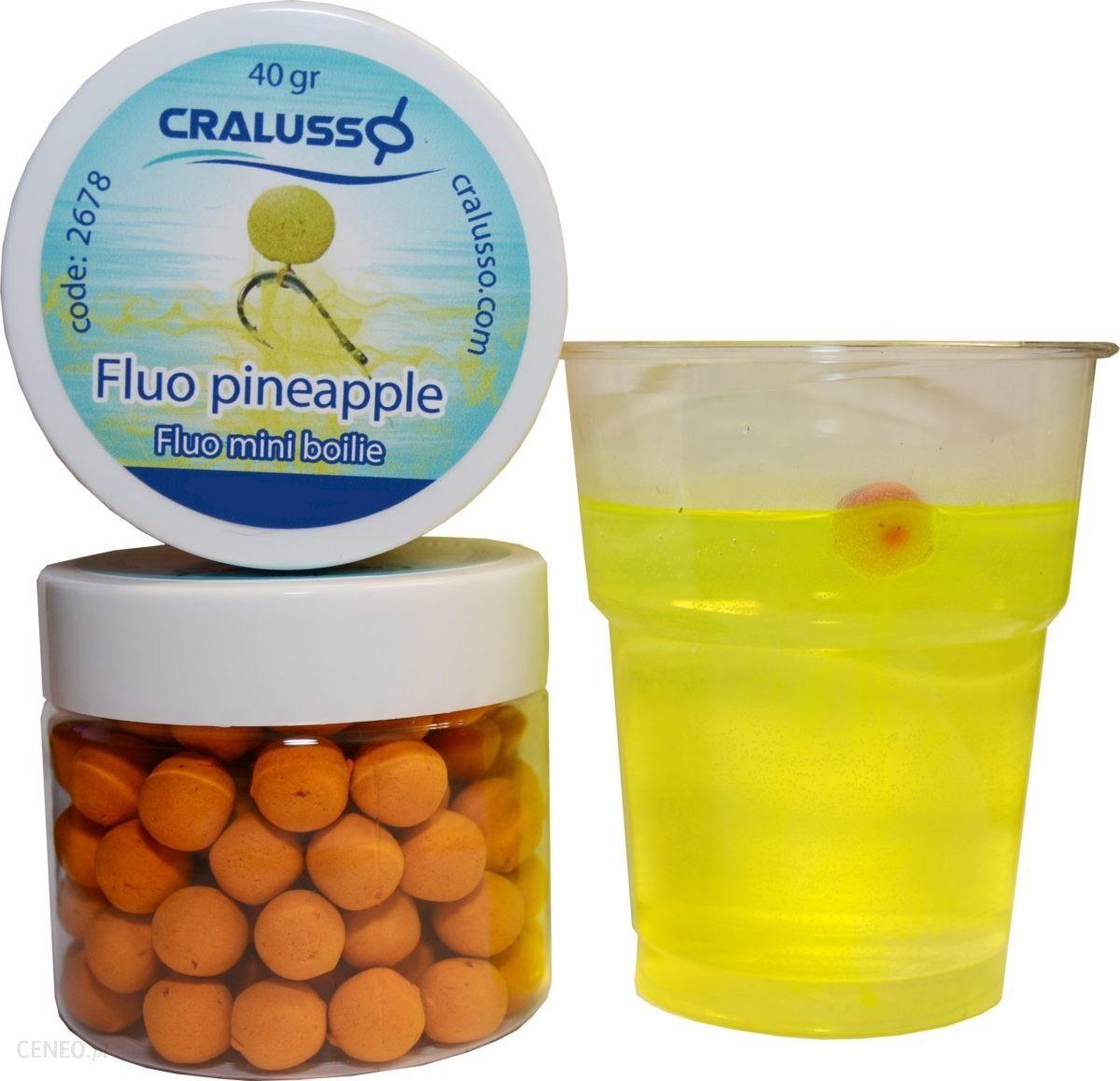 Cralusso Kulki Fluo Mini Boilie 10Mm 40G Pineapple 2665
