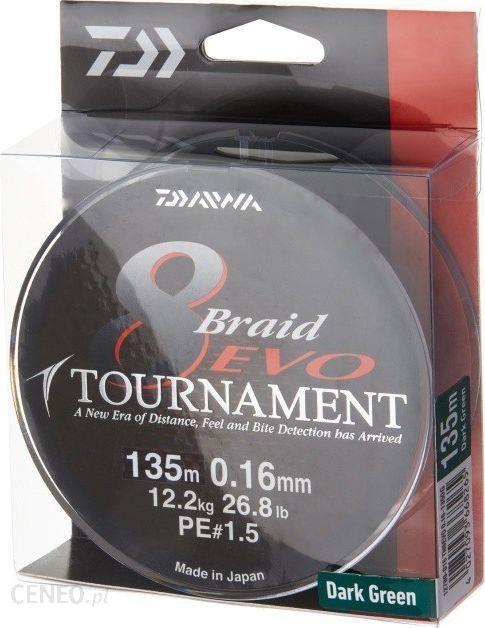 Daiwa 12780-026 Plecionka Tournament Evo Dg 0