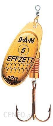 Dam Błystka Obrotówka Effzett Standard Gold 3 6G