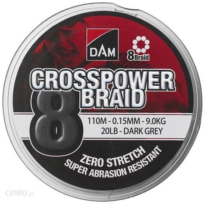 Dam Crosspower 8-Braid 150M 0.13Mm
