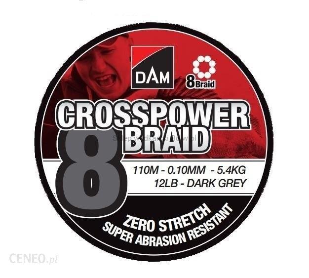 DAM Plecionka Dam Crosspower 8-Braid 0.10Mm 5