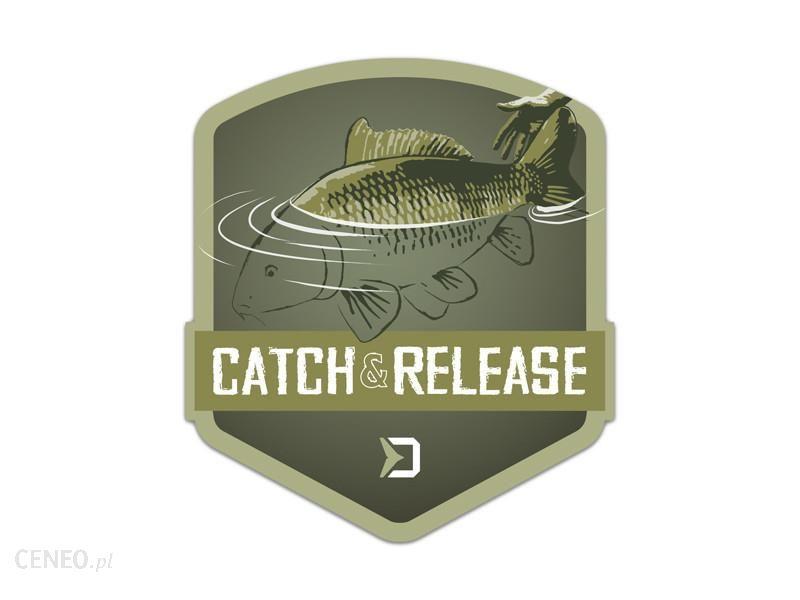 Delphin Naklejka Catch And Release 9X8Cm