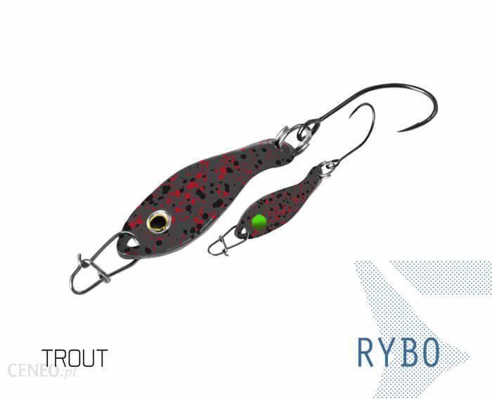 Delphin Wahadłówka Pstrągowa Rybo 0.5G Trout