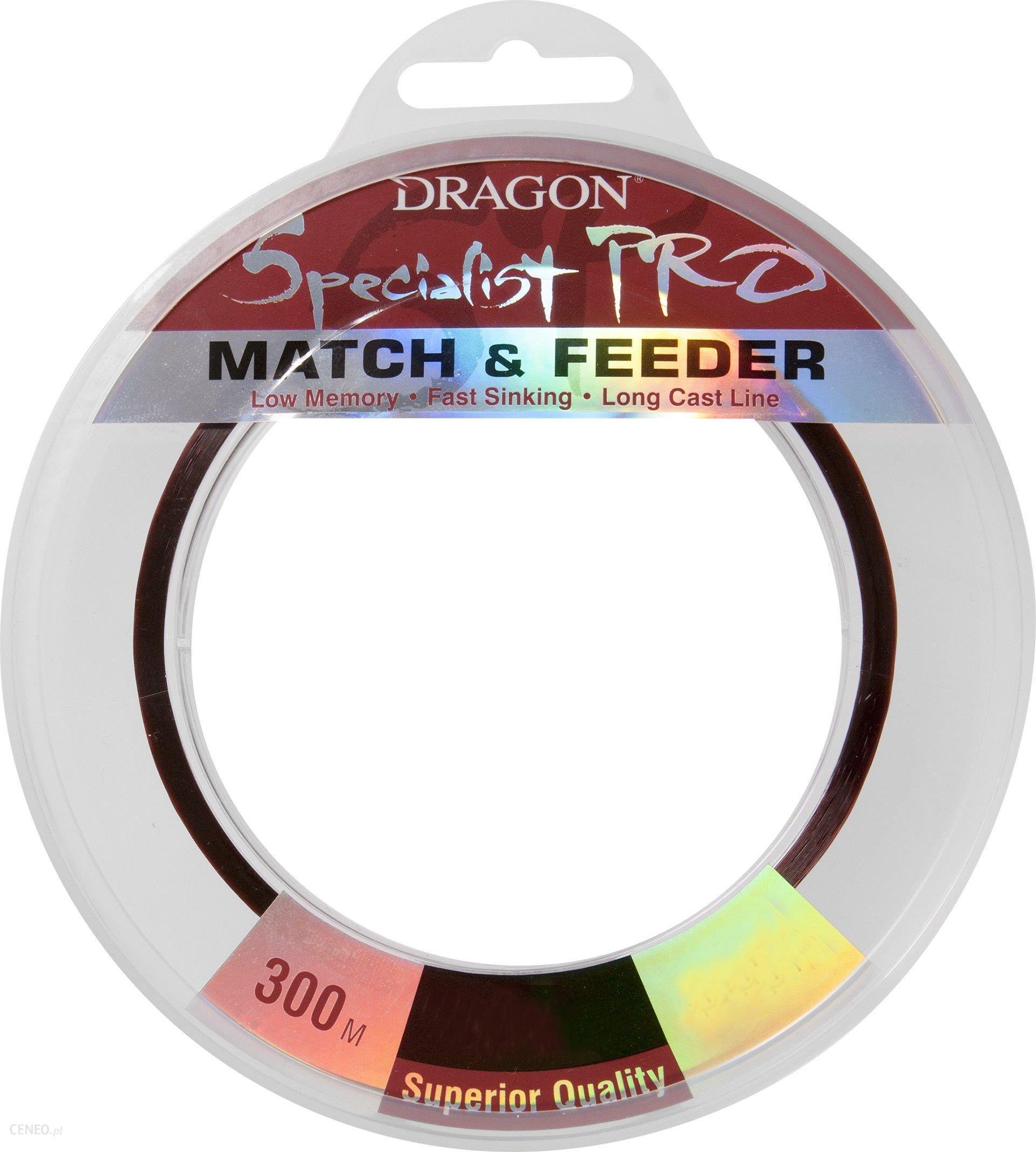 Dragon Fishing Żyłka Pro Match&Feeder Brązowa 0.14Mm 300M 2.65Kg