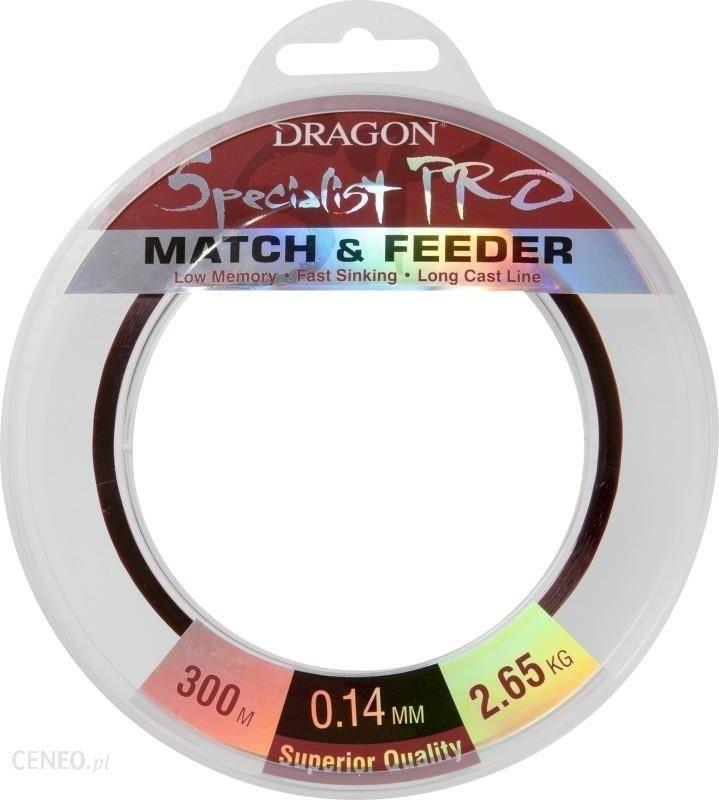 Dragon Fishing Żyłka Specialist Pro Match & Feeder 300M 0.18Mm 4.75Kg