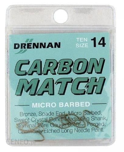 Drennan Haczyki Carbon Match No18 10Szt