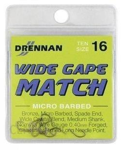 Drennan Haczyki Wide Gape Match No16 10Szt