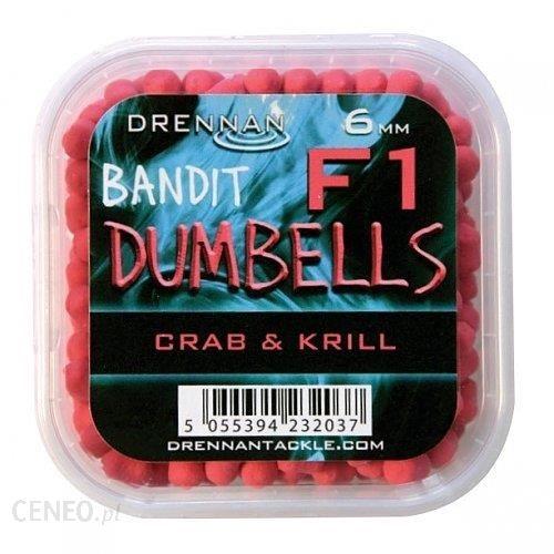 Drennan Pellet Method Dumbells F1 6Mm Crab&Krill Tbfd06Ck