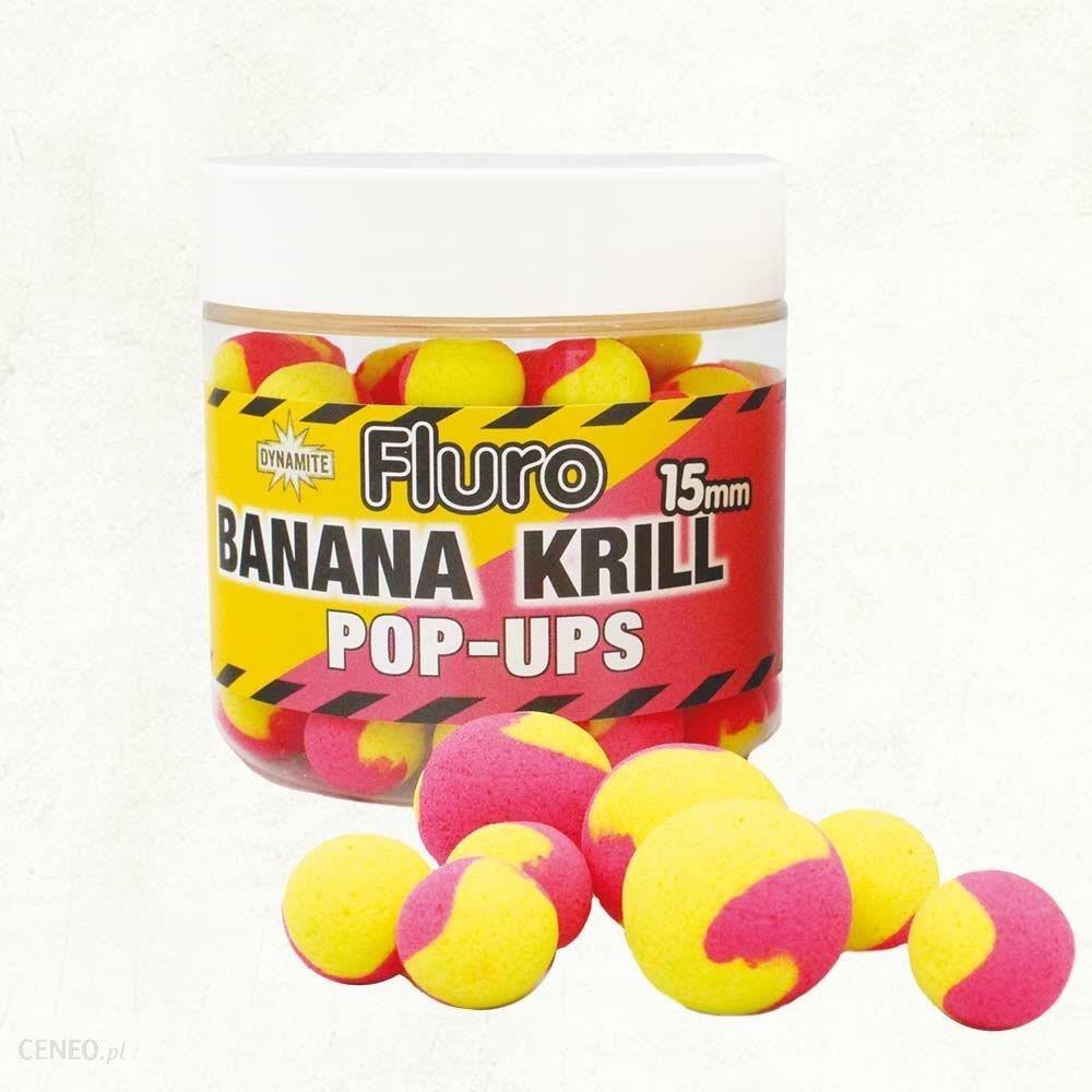 Dynamite Baits Kulki Fluro 2 Tone Krill&Banana 20Mm