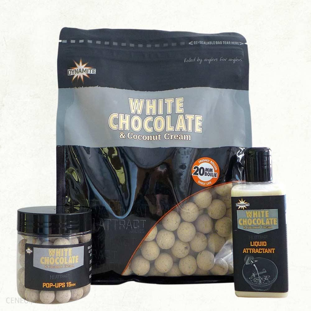 Dynamite Baits Kulki White Chocolate 15Mm 1Kg