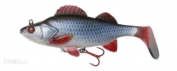 Effzett Przynęta Dam Natural Perch Paddle Tail 14Cm Roach 14  Roach