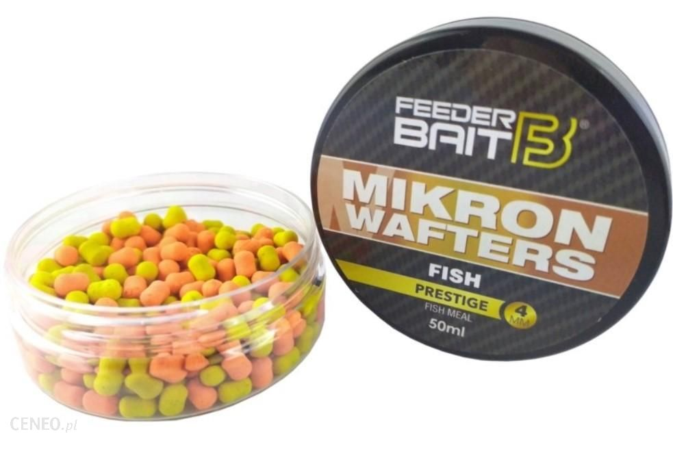 Feeder Bait Baits Mikron Wafters Fish 4/6Mm 50Ml