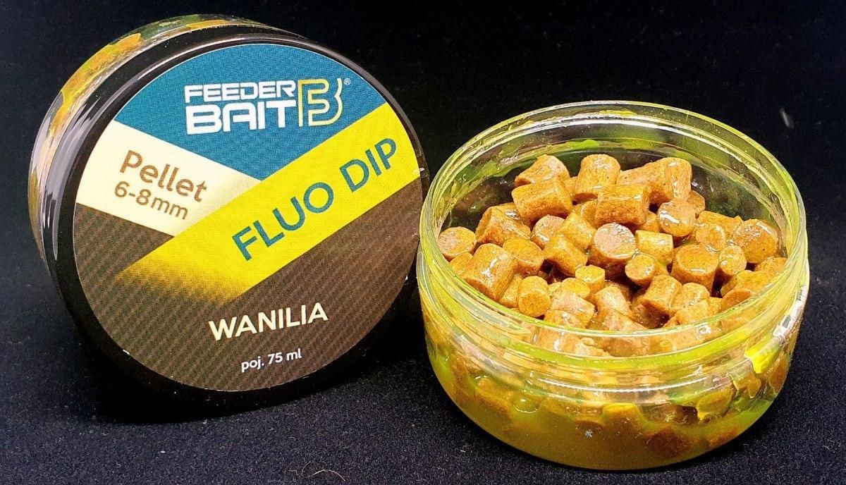 Feeder Bait Feeder Baits Pellet 6-8Mm Dip Wanilia 75Ml