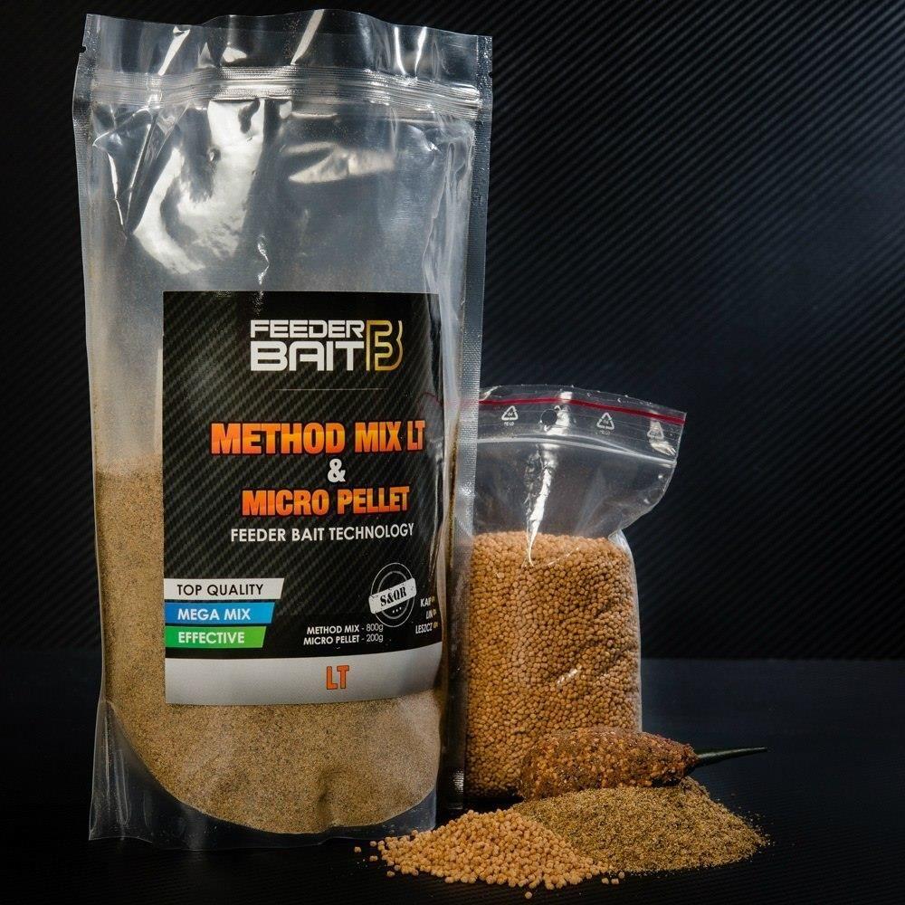 Feeder Bait Method Mix Lt & Micro Pellet