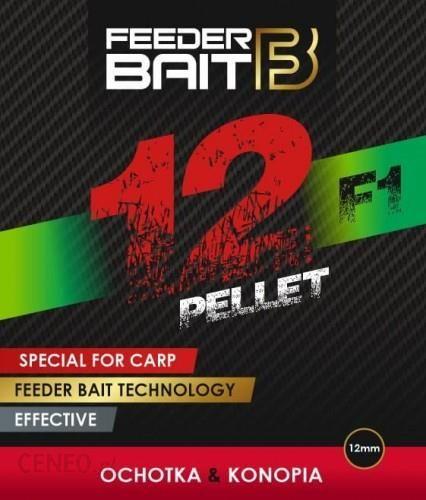 Feeder Bait Pellet F1 Ochotka/Konopia 12Mm 800G (Fb221)