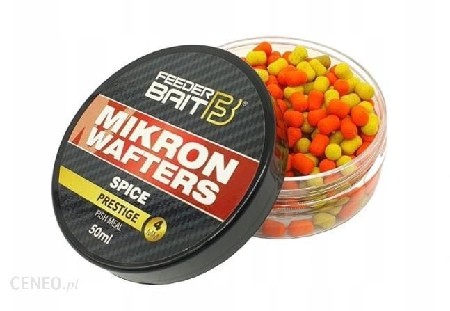 Feeder Baits Mikron Wafters Spice 4/6Mm 50Ml