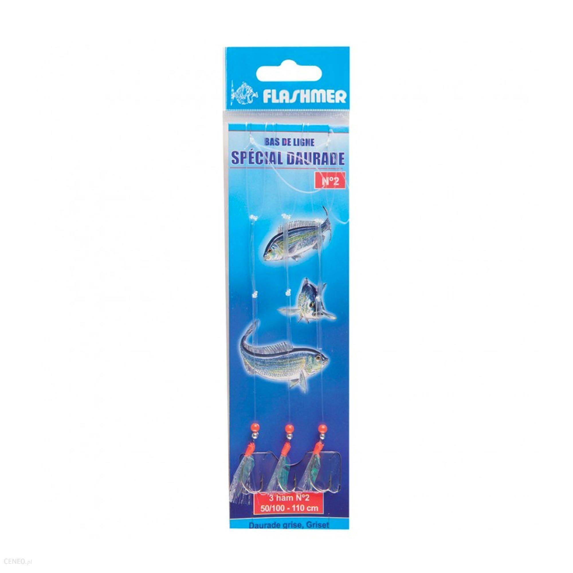 Flashmer Przypon Morski Na Dorady 3 Haczyki Nr 2