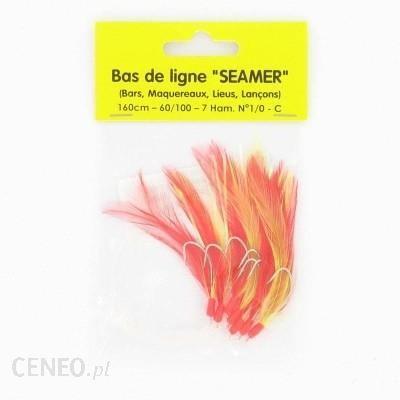 Flashmer Seamer 7 Haczyków Nr 1/0 Żółty Rouge Jaune