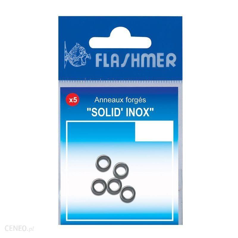 Flashmer Solid Ring Inox Nr 9 Szary