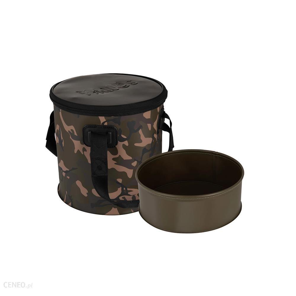 Fox Aquos Camolite Bucket And Insert Troba 12L