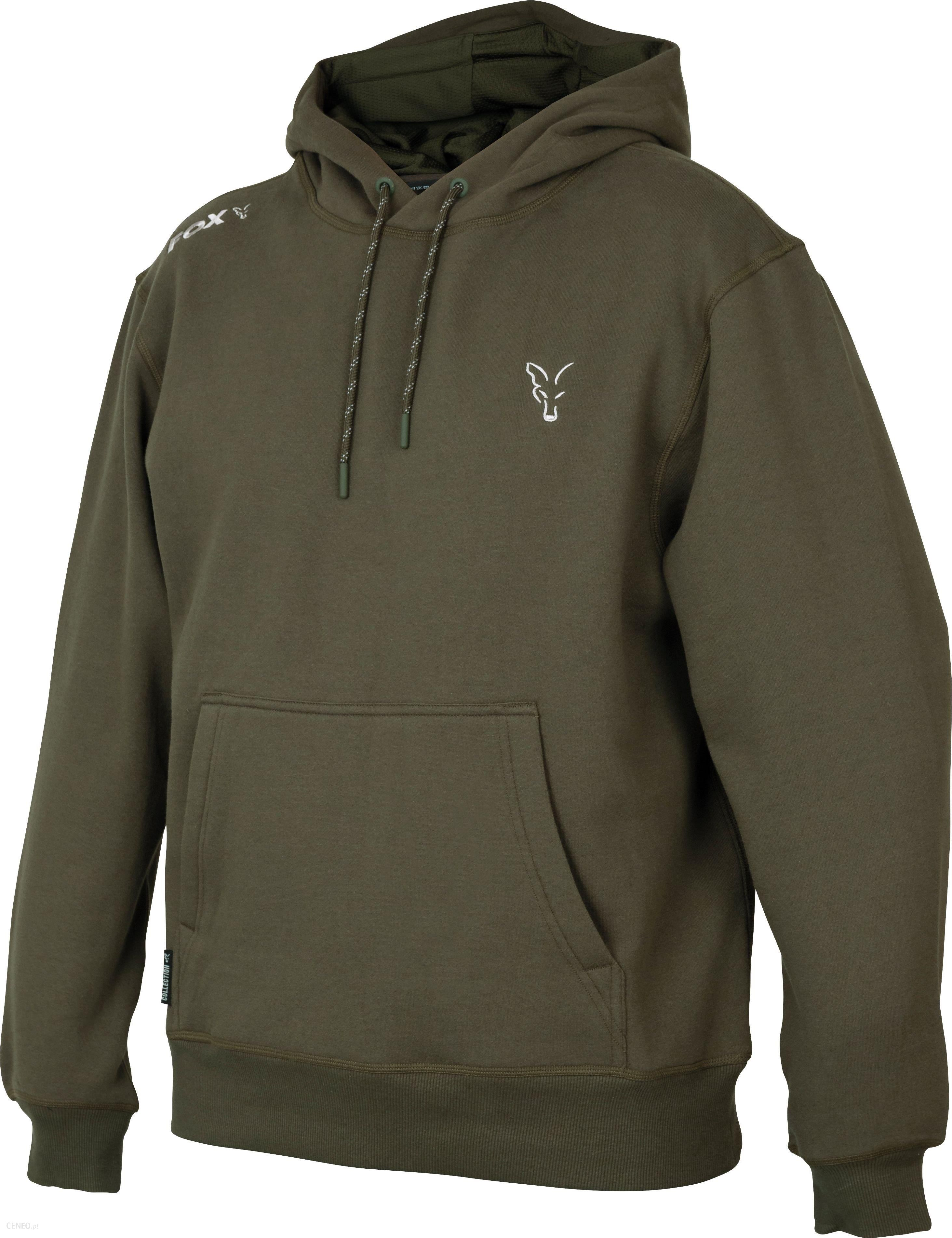 Fox Collection Green & Silver Hoodie Xl (Ccl010)