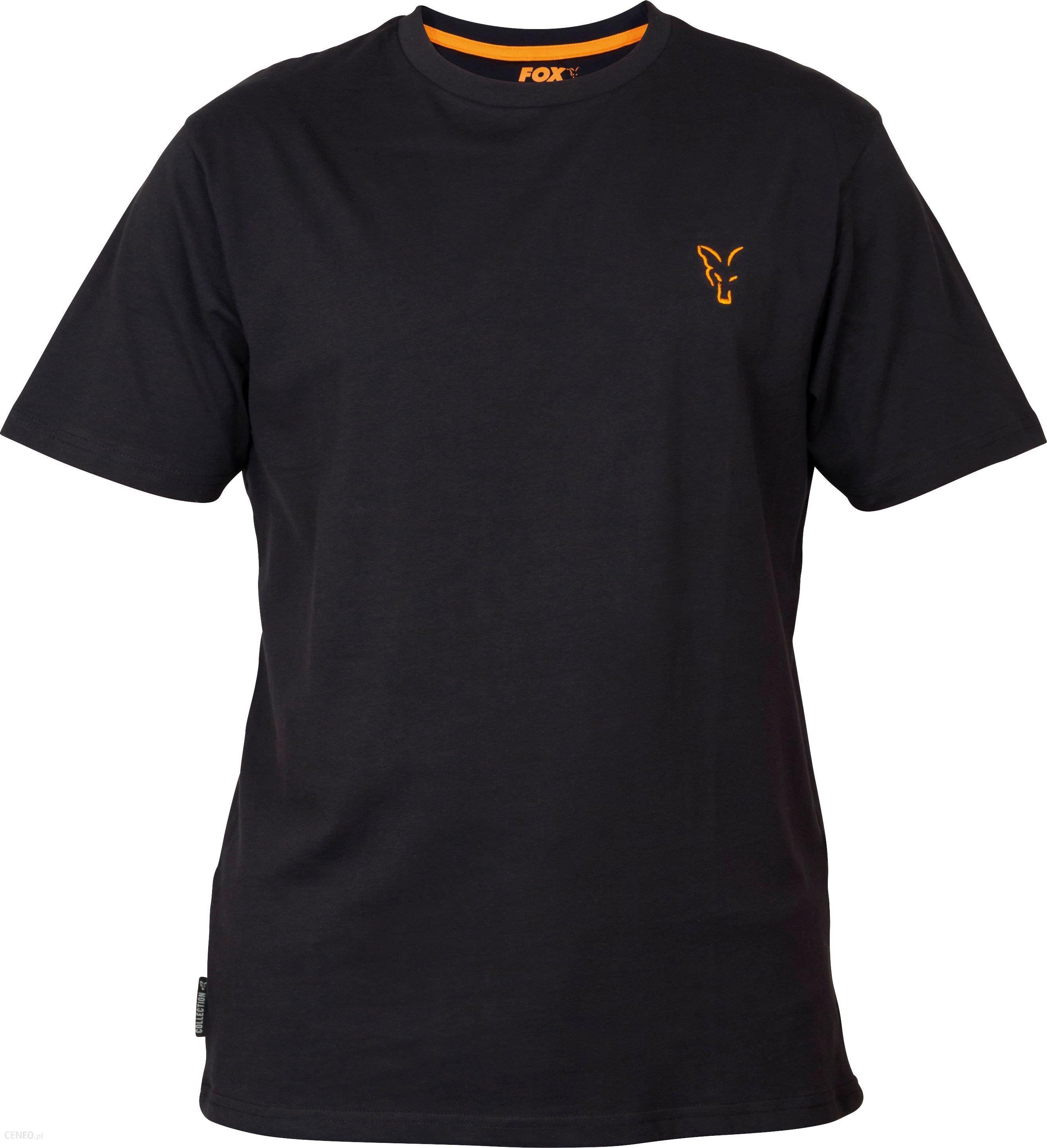 Fox Collection Orange & Black T-Shirt M (Ccl062)