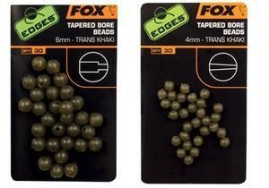 Fox Edges 4Mm Tapered Bore Beads X 30 CAC557