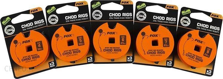Fox Edges Chod Rigs Standard (Ccr157)