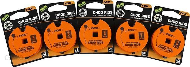 Fox Edges Chod Rigs Standard (Ccr158)