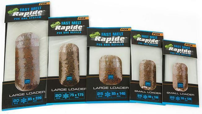 Fox Edges Rapide Load Pva Bag Refills (Cpv058)