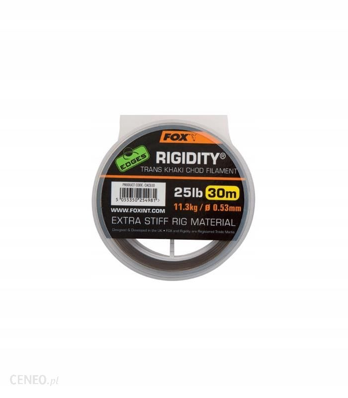 Fox Edges Rigidity Chod Filament 0.53mm