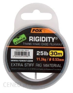 Fox Edges Rigidity Chod Filament 0.57 30Lb CAC611