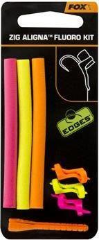 Fox Edges Zig Aligna Sleeves Fluoro Orange (Cac665)
