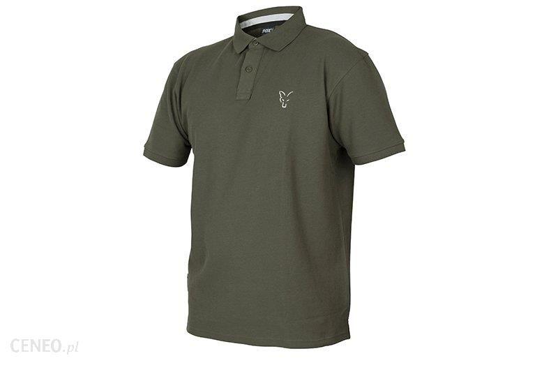 Fox Koszulka Green Silver Polo Shirt L